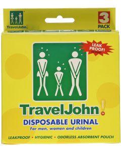 TravelJohn™ Einweg-Urinbeutel